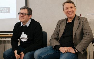 Илья Сметанин и Жаргал Дульчинов